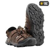 M-Tac сандали кожаные коричневые