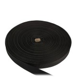 Лента ременная усиленная, 40 мм, черная