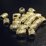 Бусина-наконечник, бронза