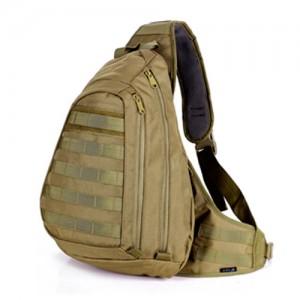 Тактический плечевой рюкзак D5-1006, wolf brown, 20л