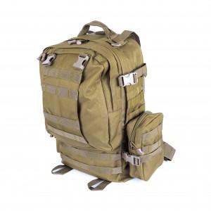 Большой тактический рюкзак 3-day Assault Pack D5-1016, wolf brown, 45л