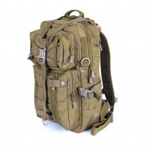 Тактический рюкзак средний D5-2025, wolf brown, 17 л