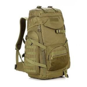 Большой тактический рюкзак D5-9319, wolf brown, 50 л
