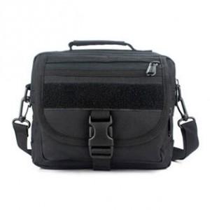 Тактическая плечевая сумка D5-9121, black
