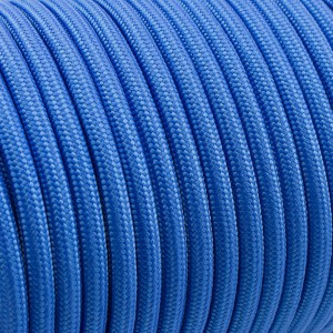 PPM cord 6 mm, simple blue #001-PPM6