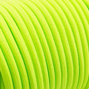 PPM cord 6 mm, fluo green #017-PPM6