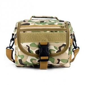 Тактическая плечевая сумка D5-9121, cp camo