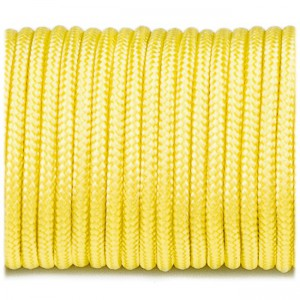 Minicord. Paracord 100 Type I (1.9 mm). yellow #019-type1