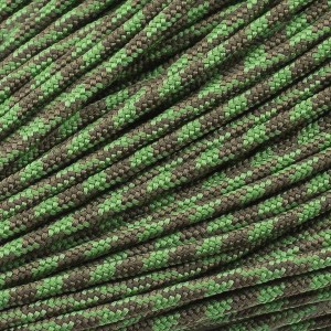 Minicord. Paracord 100 Type I (1.9 mm). o.d. moss#346-type1