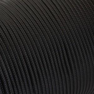 Minicord. Paracord 100 Type I (1.9 mm), black #016-type1