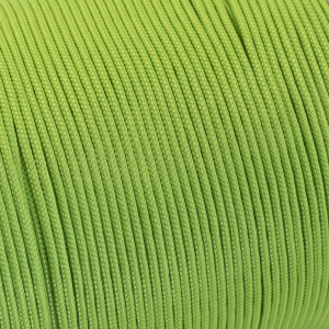 Minicord. Paracord 100 Type I (1.9 mm), fluo green #017-type1