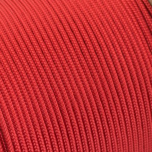 Minicord. Paracord 100 Type I (1.9 mm), red fire #021F-type1