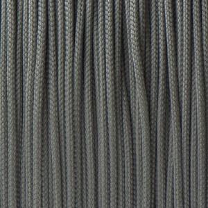 Minicord. Paracord 100 Type I (1.9 mm),  dark grey #030-type1