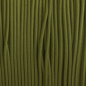 Minicord. Paracord 100 Type I (1.9 mm). Green pepper #354-type1