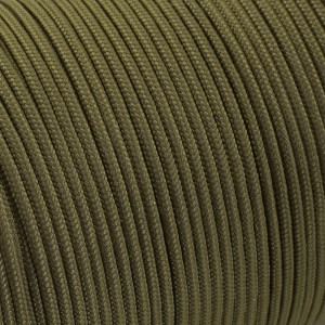 Minicord. Paracord 100 Type I (1.9 mm). golf #355-type1