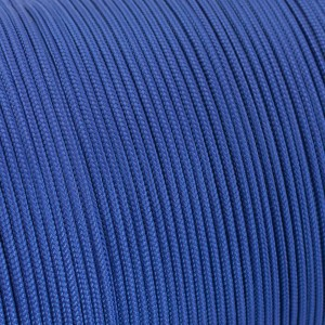 Minicord. Paracord 100 Type I (1.9 mm). royal blue #376-type1