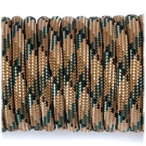 Paracord 550 coyote brown camo #067