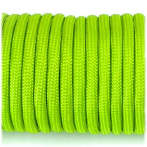 Paracord 550 fluo green #017