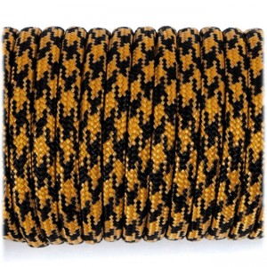 Paracord 550 gold & black camo #252