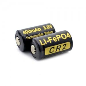Аккумулятор литиевый Li-Ion CR2 Soshine 3.2V (400mAh)