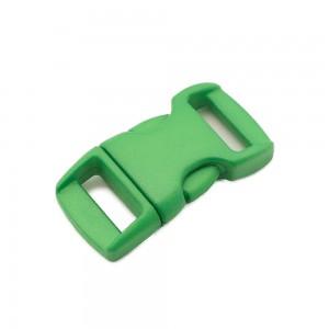 """3/8"""", зеленый, фастекс пластиковый"""