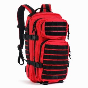 Тактический городской рюкзак Red Rock Rebel Assault 28 (Red&Black)