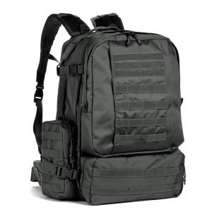 Большой тактический рюкзак 3-day Assault Pack Red Rock Diplomat 52, black, 52 л