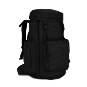 Большой тактический рюкзак S408, black, 70-85л