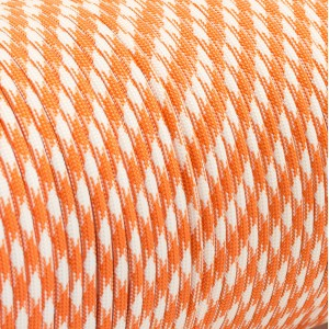 Paracord 550 orange white camo #046
