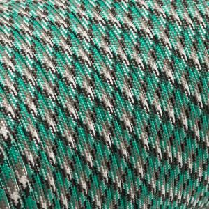 Paracord 550, green camo #065