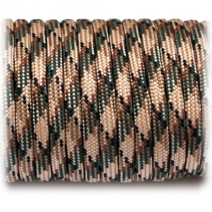 Paracord 550 blackish camo #033