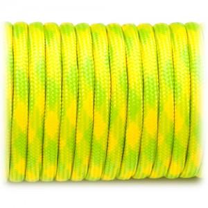 Paracord 550 fluor yellow camo #040