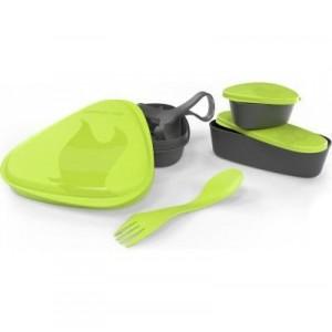 Набор посуды для туризма Light My Fire LunchKit lime