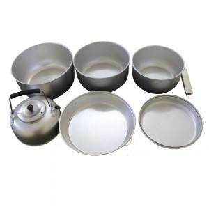Набор посуды алюминевый 7 предметов MIL-TEC