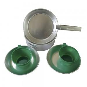 Набор алюминиевой посуды на 2 персоны MIL-TEC
