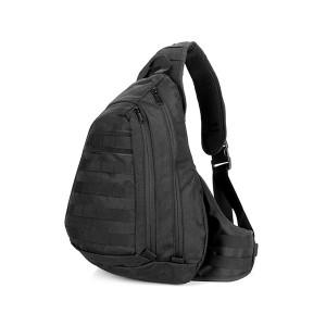 Тактический плечевой рюкзак D5-1006, black, 20л