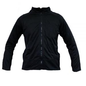 Тактическая флисовая рубашка MIL-TEC THERMOFLEECE Black