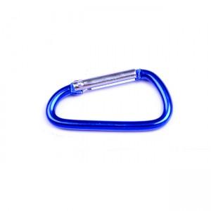 D-образный карабин для снаряжения, blue