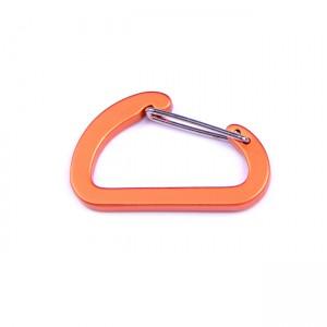 D-образный карабин для развески снаряжения, orange