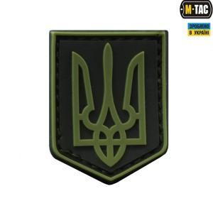 M-TAC нашивка герб Украины ПВХ Олива