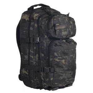 Рюкзак штурмовой Mil-Tec LazerCut (Multicam Black, 20 л.)