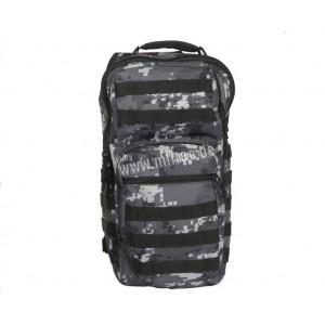 МИЛТЕК Рюкзак через плече большой DIGITAL BLACK