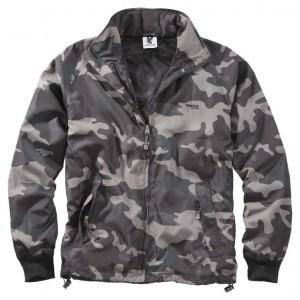 Куртка ветровка SURPLUS Windbreaker Basic Black Camo