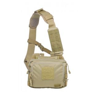 Сумка тактическая для скрытого ношения оружия 5.11 2-Banger Bag Sandstone