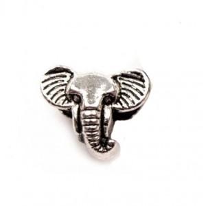 """Бусина """"Голова слона"""""""