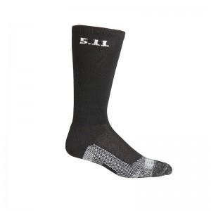 Носки тактические средней плотности 5.11 Tactical Level I 9 Sock - Regular Thickness, Black