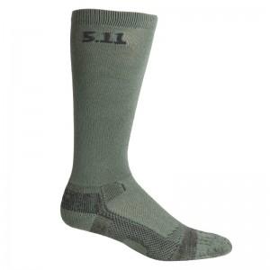 Носки тактические средней плотности 5.11 Tactical Level I 9 Sock - Regular Thickness, Foliage