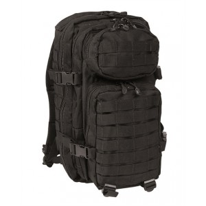 Рюкзак штурмовой Mil-Tec Assault (Black, 20 л.)