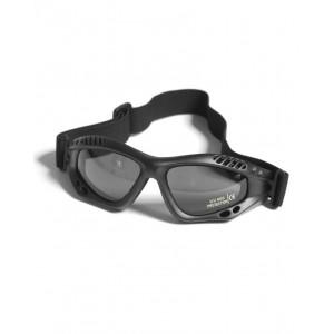 Очки десантные AIRPRO (Дымчатое стекло) (Black)