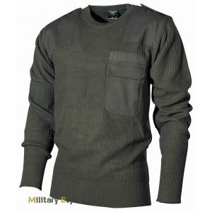 Пуловер BW акриловый (Olive) - (Max Fuchs)